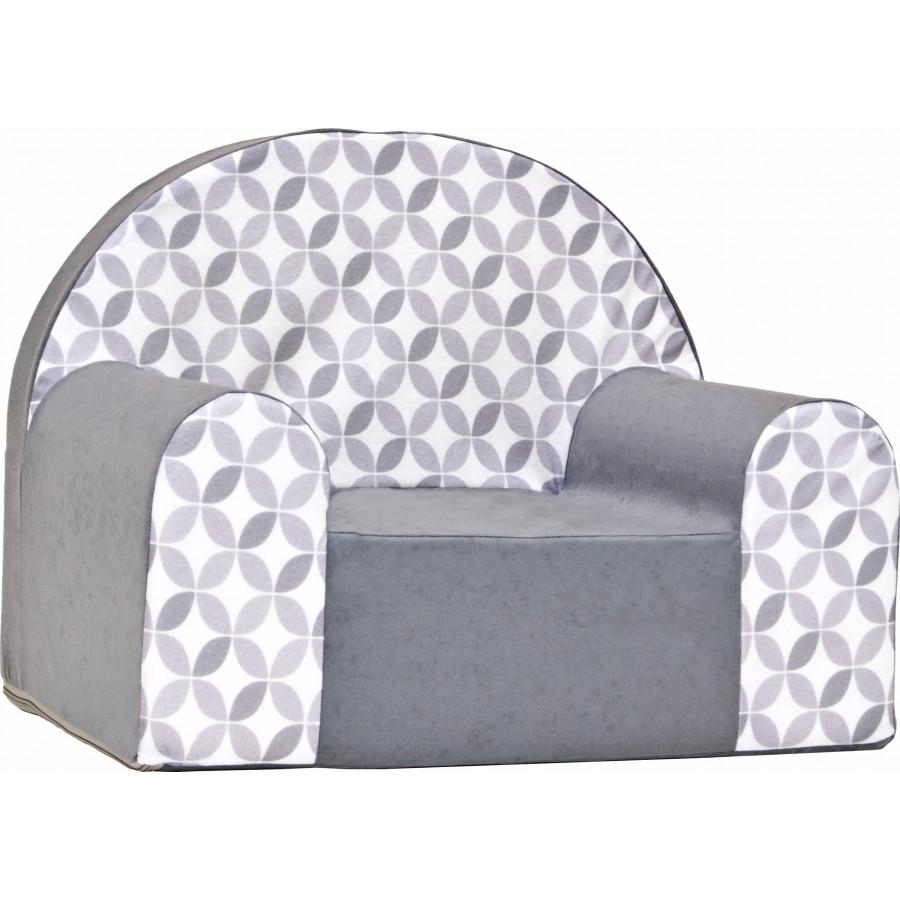 Fotelik kanapa piankowa dziecięca - Serduszka