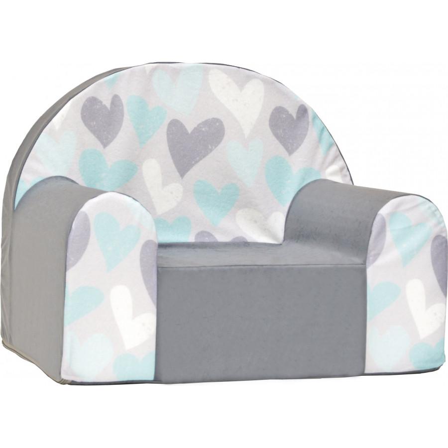 Fotelik kanapa piankowa dziecięca - Plastry miodu
